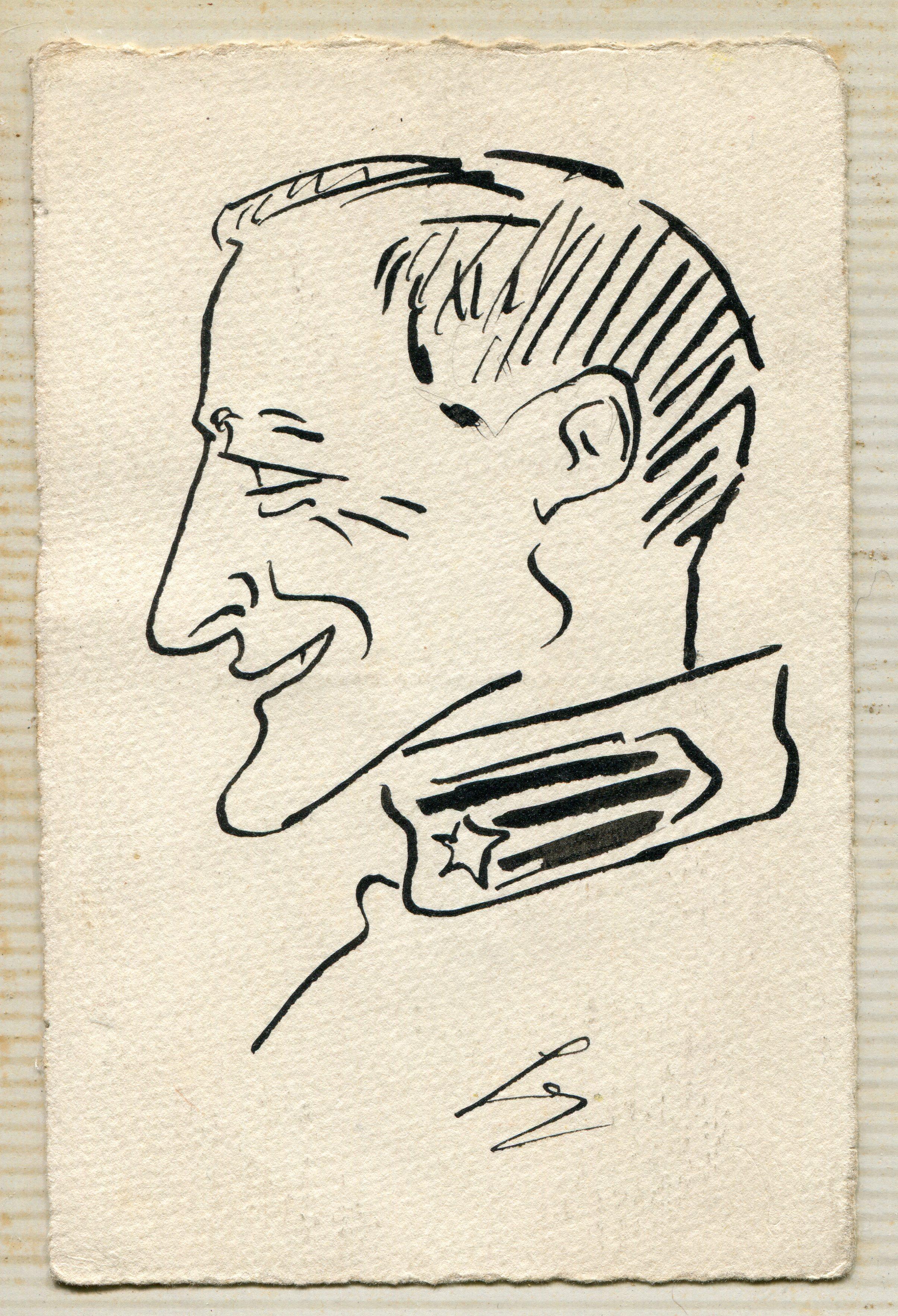 Caricatura di Carlo Galetti