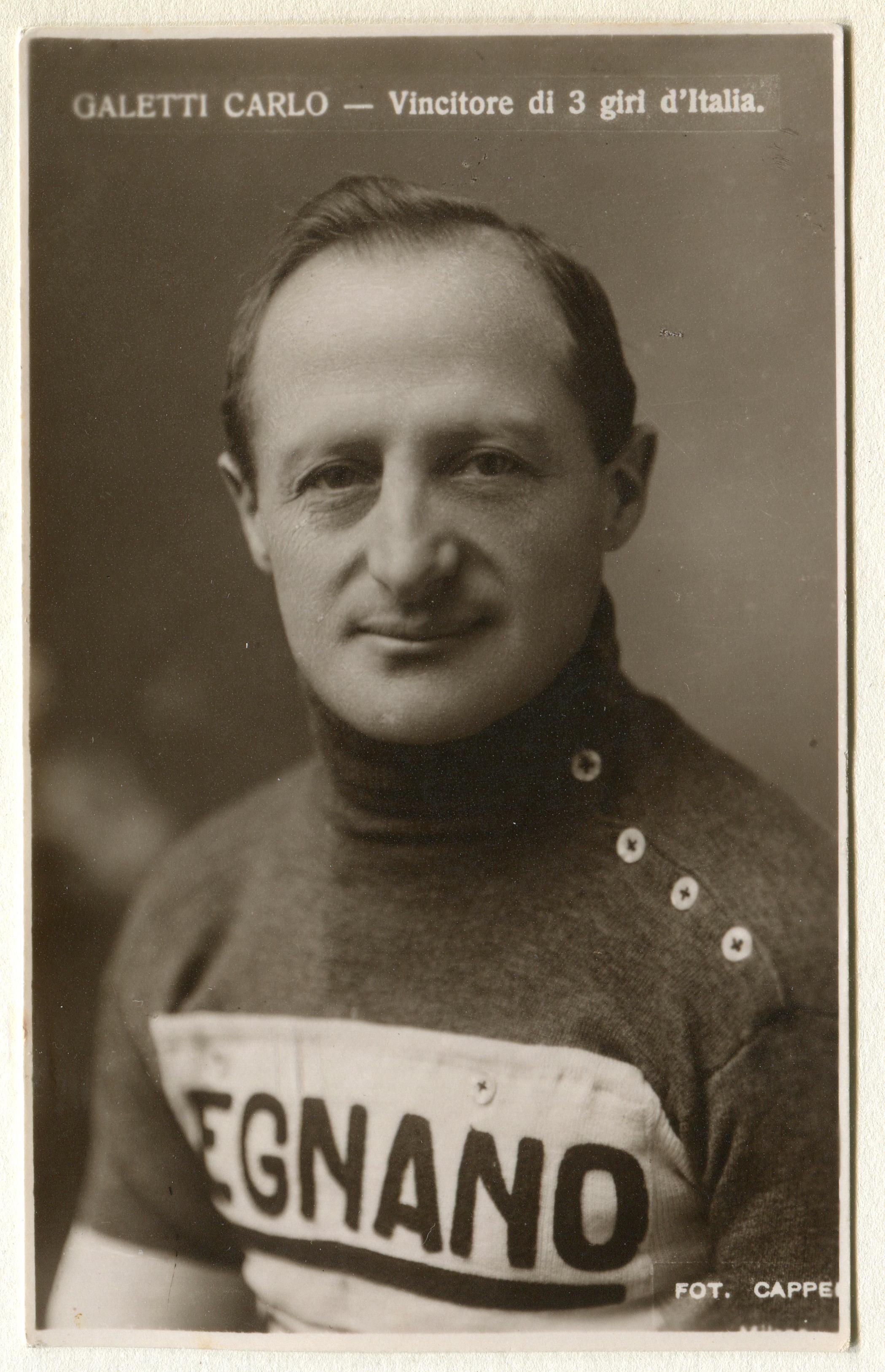 1920 - Carlo Galetti.
