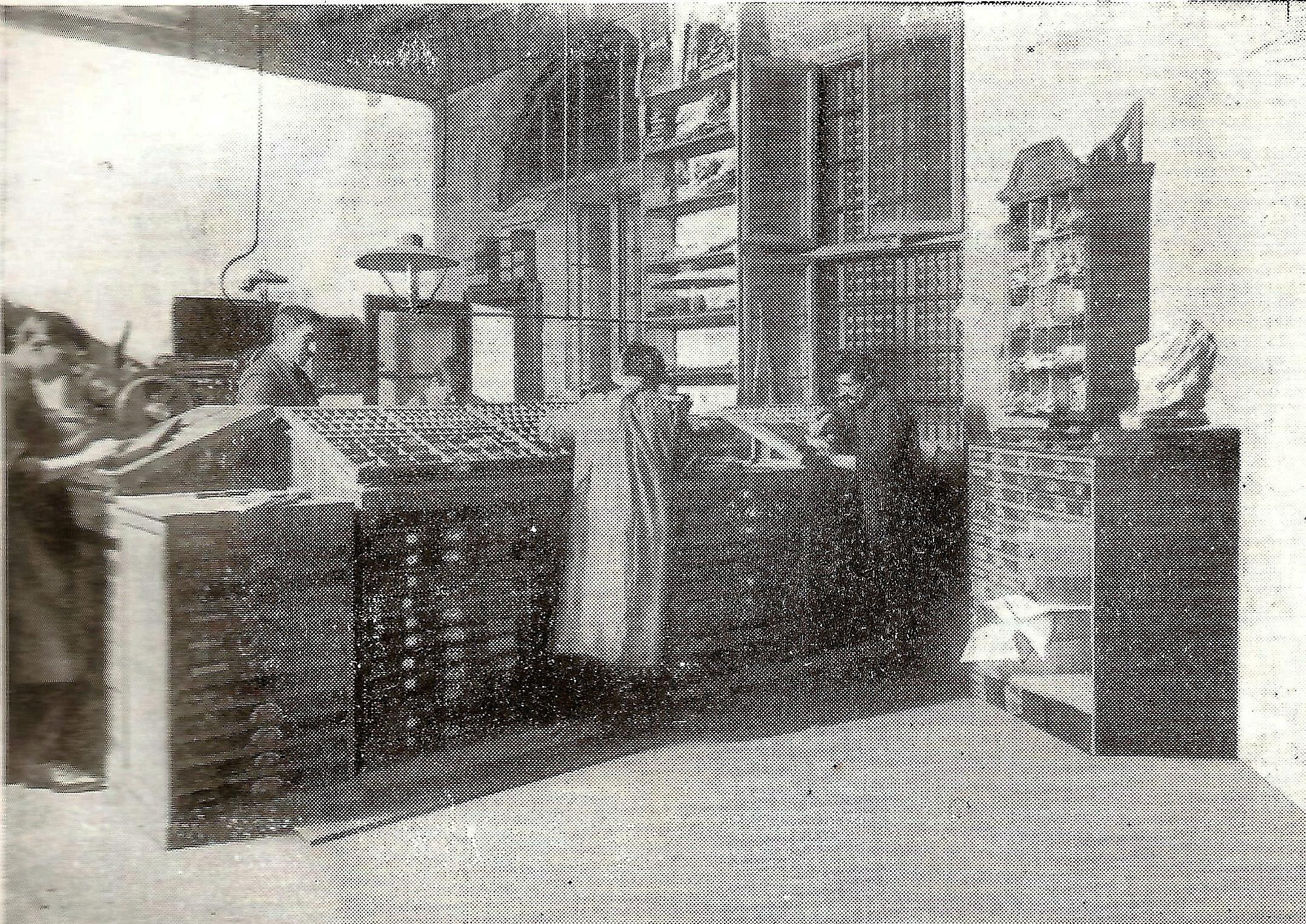 1911 - Il reparto dei compositori nella tipografia di Carlo Galetti.