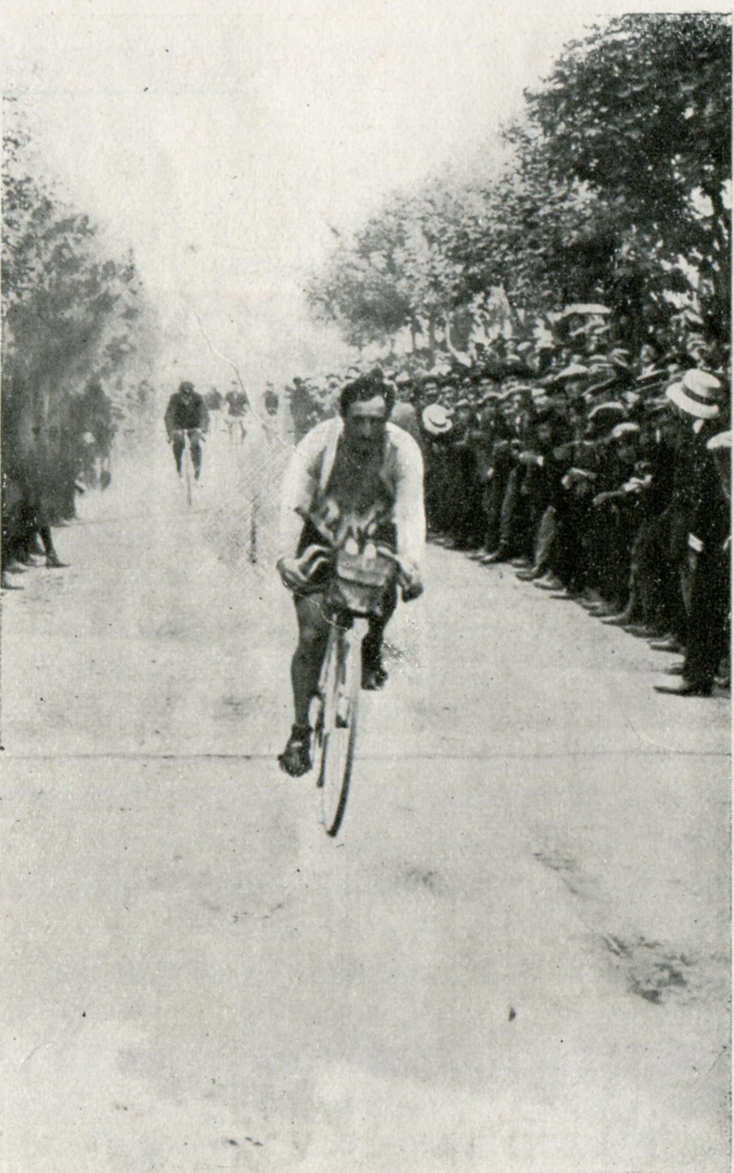 Carlo Galetti vince Tre Coppe Parabiago - 1911