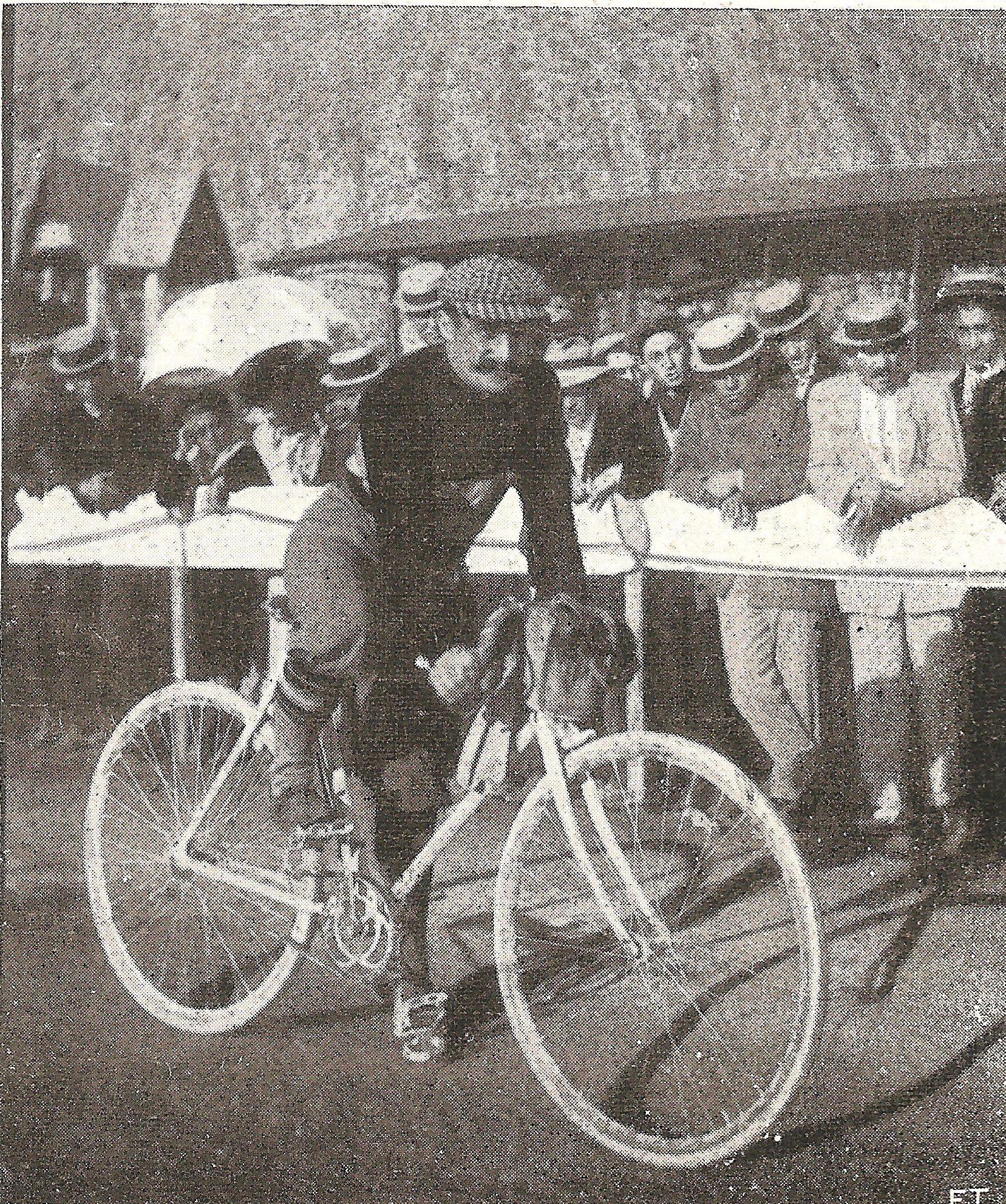 Carlo Galetti al giro di Sicilia - 1907