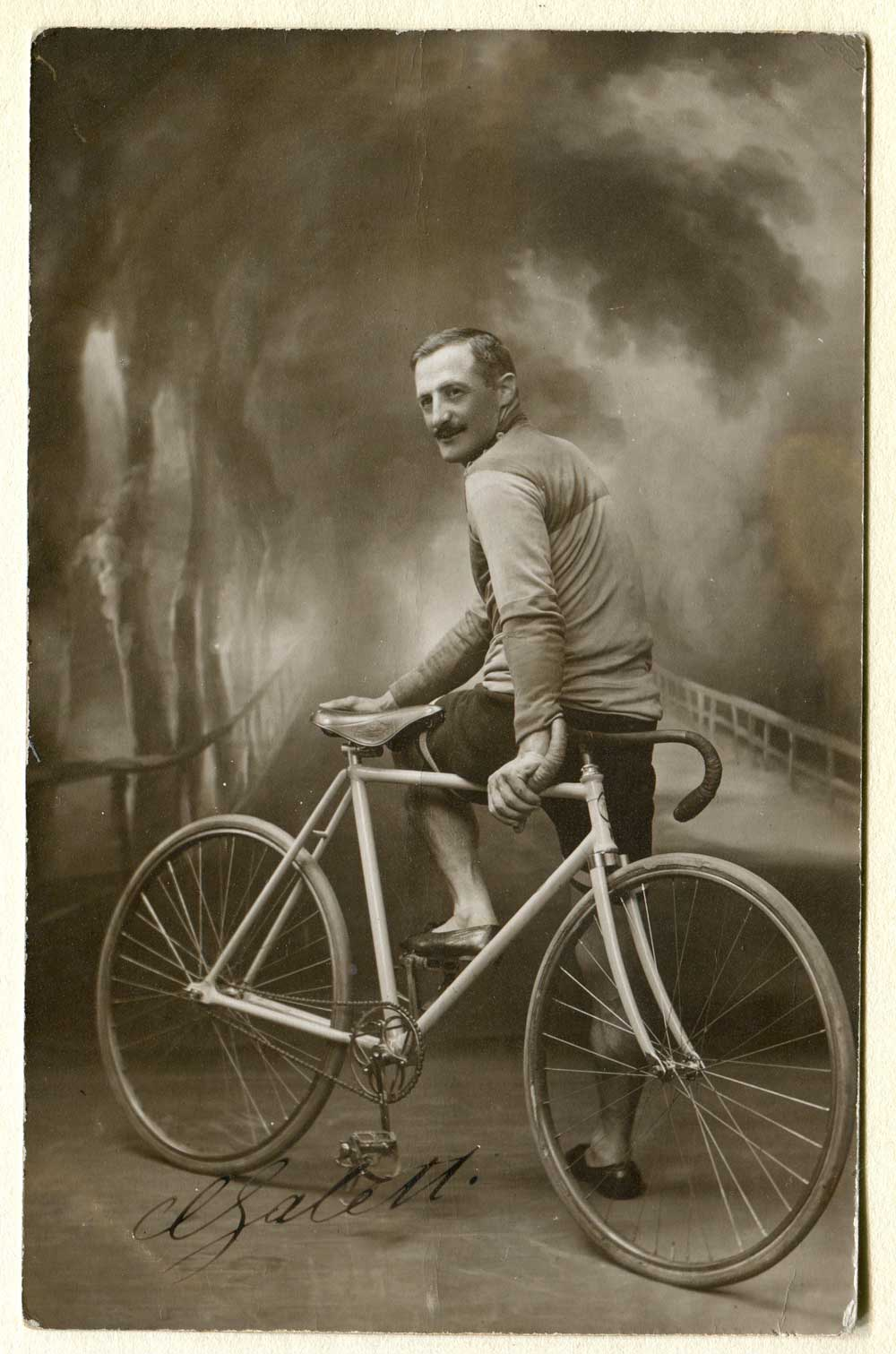 Carlo Galetti in bici