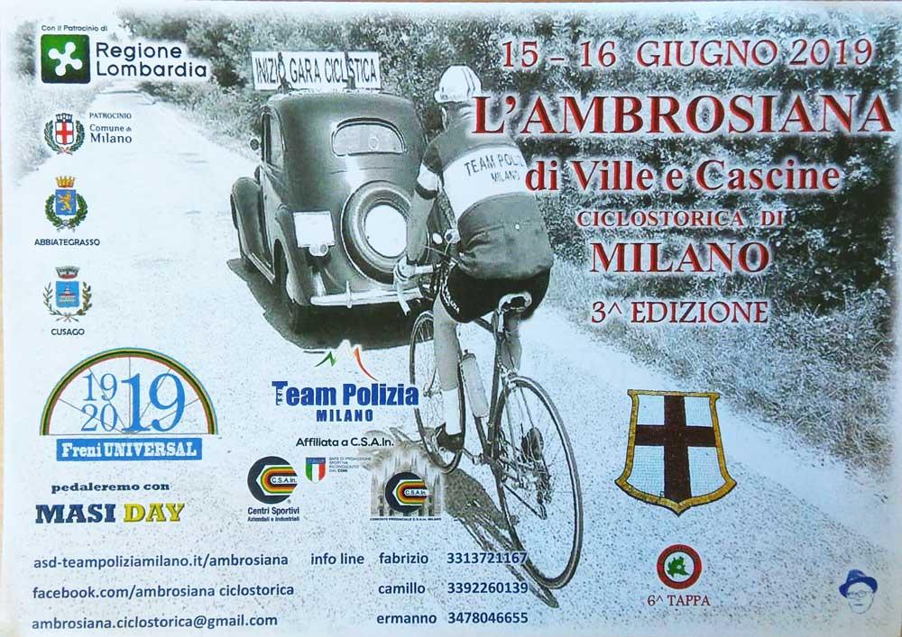 Ambrosiana 15-16 giugno 2019 Milano