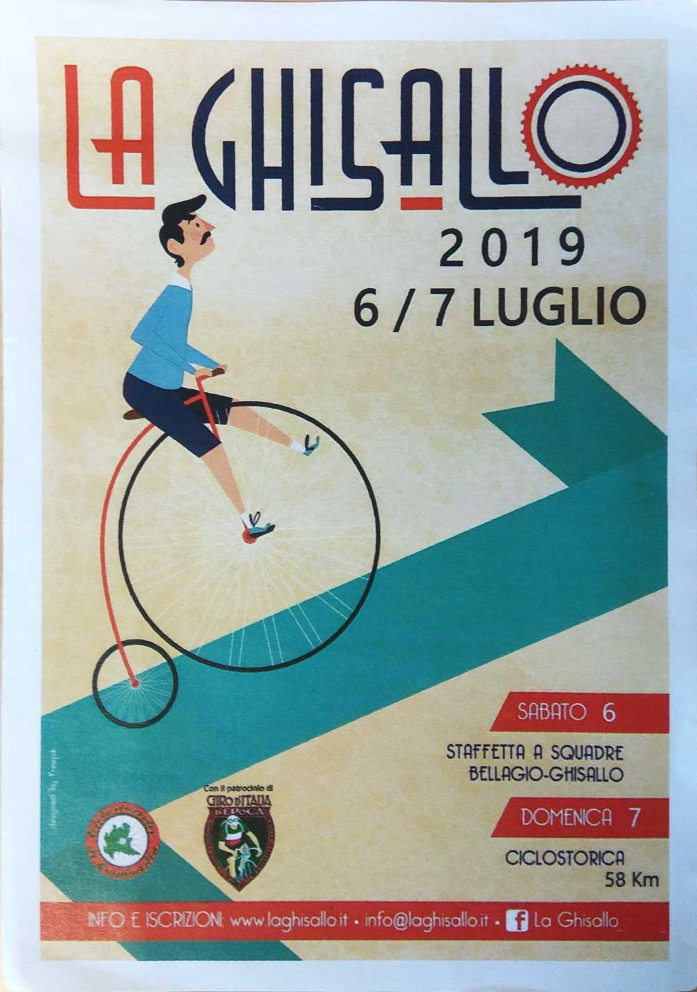 Ghisallo 6-7 luglio 2019